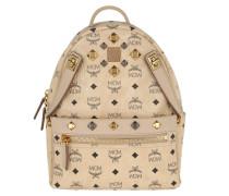 Dual Stark Backpack Small Beige Rucksack gold