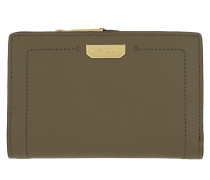 New Compact Wallet MD Sage/Caramel
