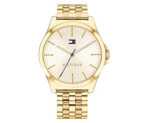 Uhr Quartz Watch Yellow Gold
