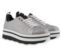 Sneakers - Wave Plateau Sneaker Silver