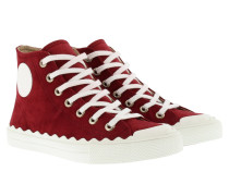 Kyle Sneakerss Suede Rubis Red