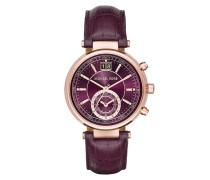 Sawyer Watch Rosegold-Tone Purple Armbanduhr gold