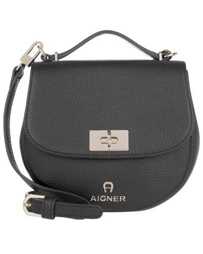 aigner damen aigner tasche ophelia mini shoulder bag black in schwarz umh ngetasche f r. Black Bedroom Furniture Sets. Home Design Ideas