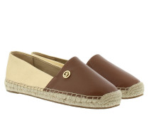 Kendrick Slip On Brown/ Pale Gold Espadrilles
