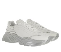 Sneakers Daymaster Leather White Argento