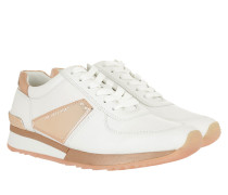 Allie Plate Wrap Trainer Sneakers Optic White/Ballet Sneakers rosa