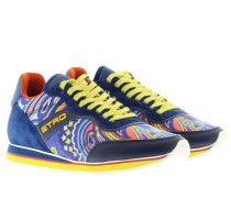 Sneakers - Paisley Trainers Blue
