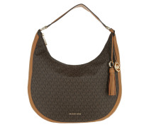 Lydia LG Hobo Brown Bag