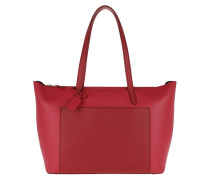 Panama E/W Zip Tote Smt Red