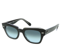 Sonnenbrille Unisex Sunglasses Icons 0RB2186 Black On Transparent