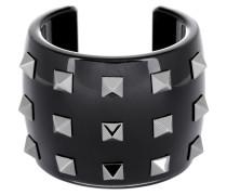 Schmuck - Rockstud Bracelet Acrylic Glass Black
