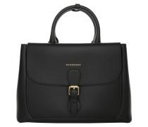 Tasche - Bonded Medium Saddle Bag Tote Black