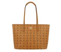 Tasche - Anya Top Zip Shopper Medium Cognac
