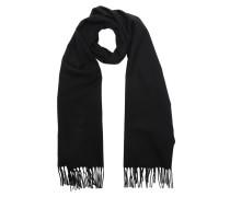 Wool Scarf Black Schal
