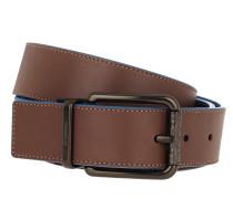 Gürtel Men Cutable Belt Leather Saddle/Pacific