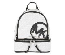 Rucksack Rhea Zip Backpack Bright White/Multi