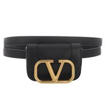 Gürteltasche Belt Bag Leather Black