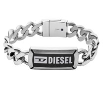 Armband Stainless Steel Chain ID Bracelet Silver