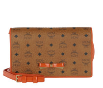 Mina Flap Umhängetasche Bag Large Cognac/ Orange braun
