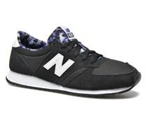 WL420 Sneaker in schwarz