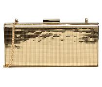 Minaudière MultiFacettes Handtaschen für Taschen in goldinbronze