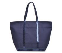 Cabas Coton M+ Zip Handtaschen für Taschen in blau