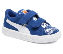 Suede Superman Street V Inf Sneaker in blau