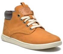 Groveton Leather Chukka Sneaker in beige