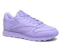 Cl Lthr L Sneaker in lila