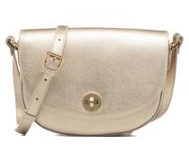 Flora Handtaschen für Taschen in goldinbronze