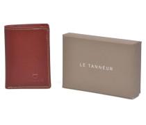 TOURAINE Portecartes et billets Portemonnaies & Clutches für Taschen in rot