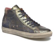 Gianna 2.0 Jeans Mid Sneaker in schwarz