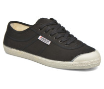 Basic Sneaker in schwarz