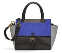 MEYAinFLANEL Porté travers Cuir Handtaschen für Taschen in blau