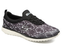 Microburst Mamba Sneaker in schwarz