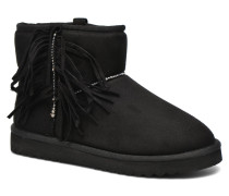 Uma Fringes Stiefeletten & Boots in schwarz