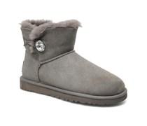 Mini Bailey Button Bling Stiefeletten & Boots in grau