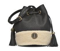 GIGI MINI BUCKET SHEARLING Handtaschen für Taschen in schwarz