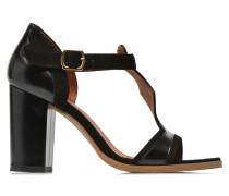 Discow Girl #7 Sandalen in schwarz