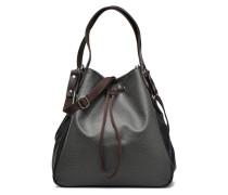Cabas lacet Grainé Handtaschen für Taschen in grau