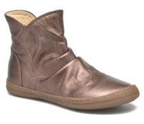 New school pleats golden Stiefeletten & Boots in goldinbronze