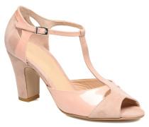 Volantis Sandalen in rosa