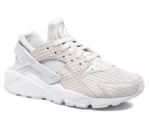 Wmns Air Huarache Run Prm Sneaker in weiß
