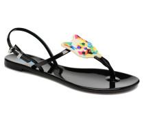 Karl Choupette Sandal Sandalen in schwarz
