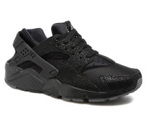 Huarache Run Se (Gs) Sneaker in schwarz