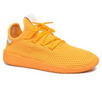 Pharrell Williams Tennis Hu J Sneaker in gelb