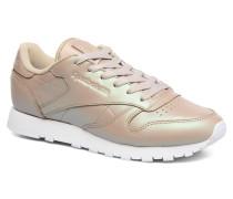 Cl Lthr Pearlized Sneaker in goldinbronze