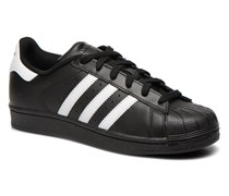 Superstar Foundation W Sneaker in schwarz