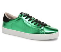 Deportivo Metalizado Sneaker in grün