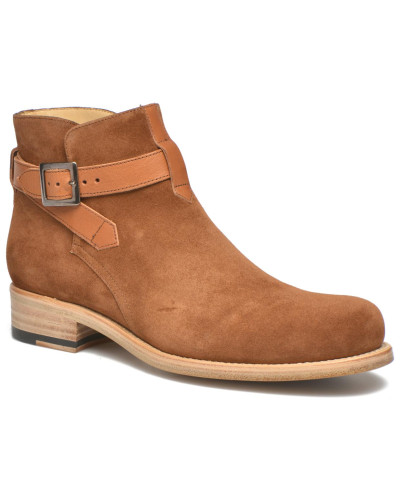 Lotec Low Boot Strap Stiefeletten & Boots in braun